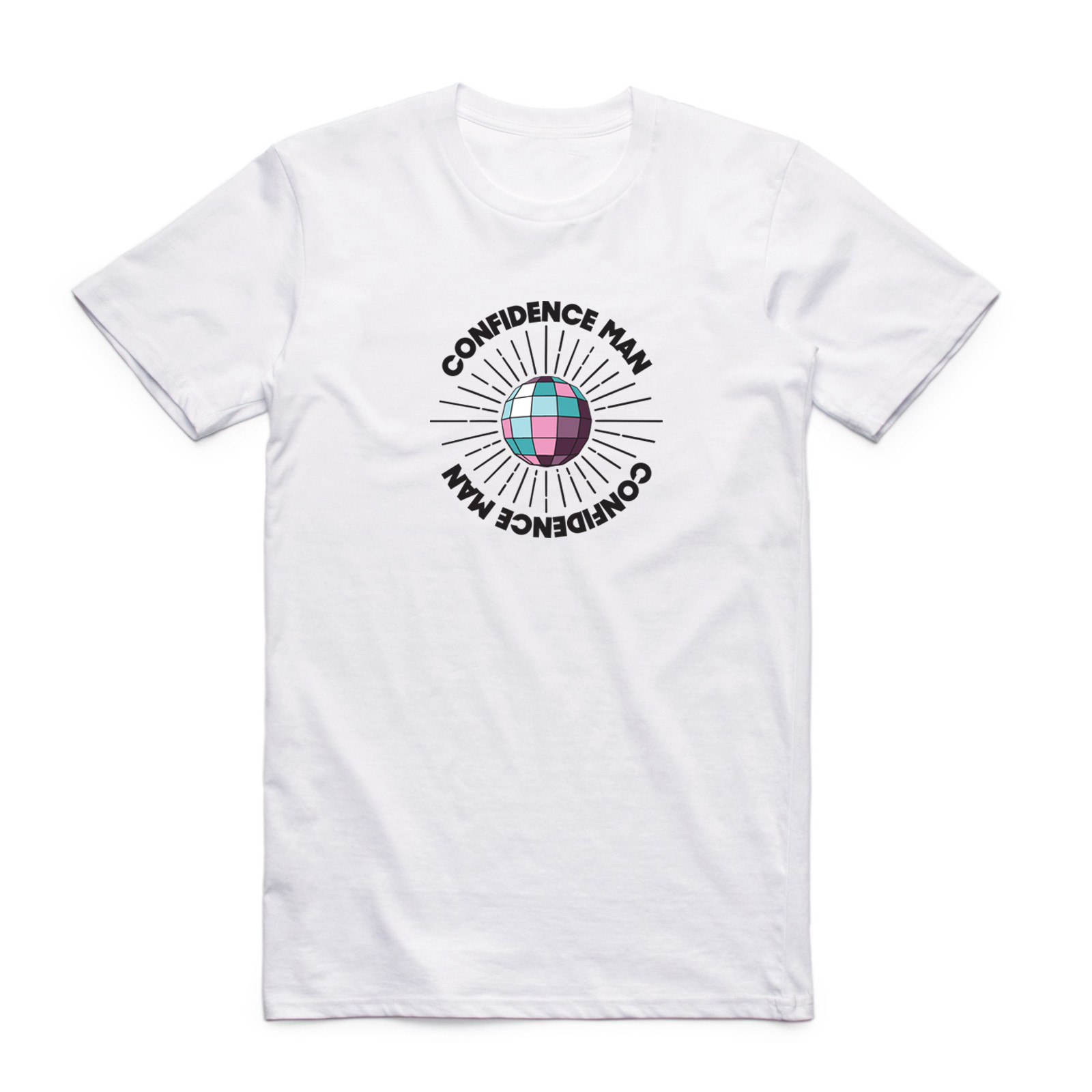 Confidence Man - Mirrorball White Tee